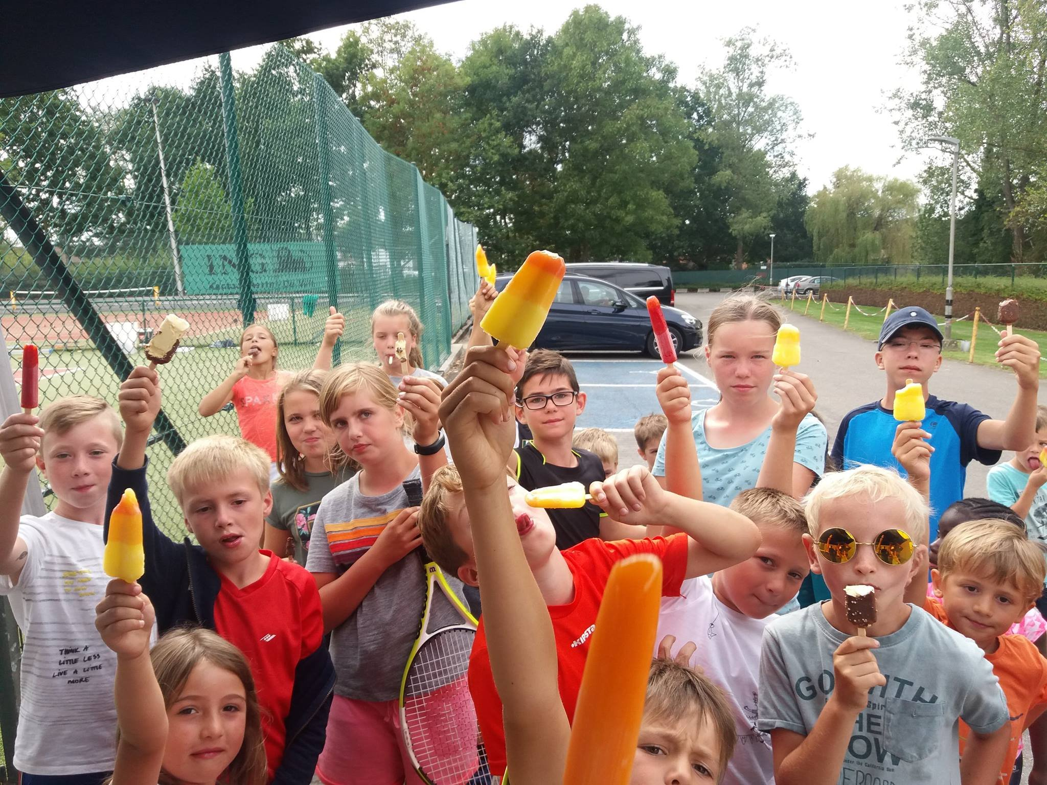 Fun2Tennis tenniskamp Kapelle-op-den-bos TC Eternit